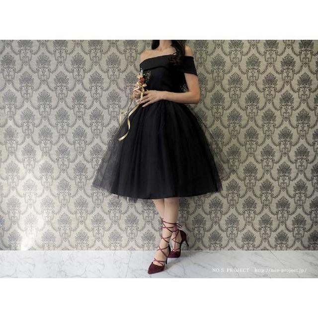 画像3: バレリーナチュチュドレス 黒鳥(ブラック)【NO.S PROJECT】29,160円(税込み)