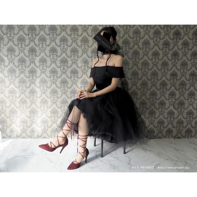 画像1: バレリーナチュチュドレス 黒鳥(ブラック)【NO.S PROJECT】29,160円(税込み)