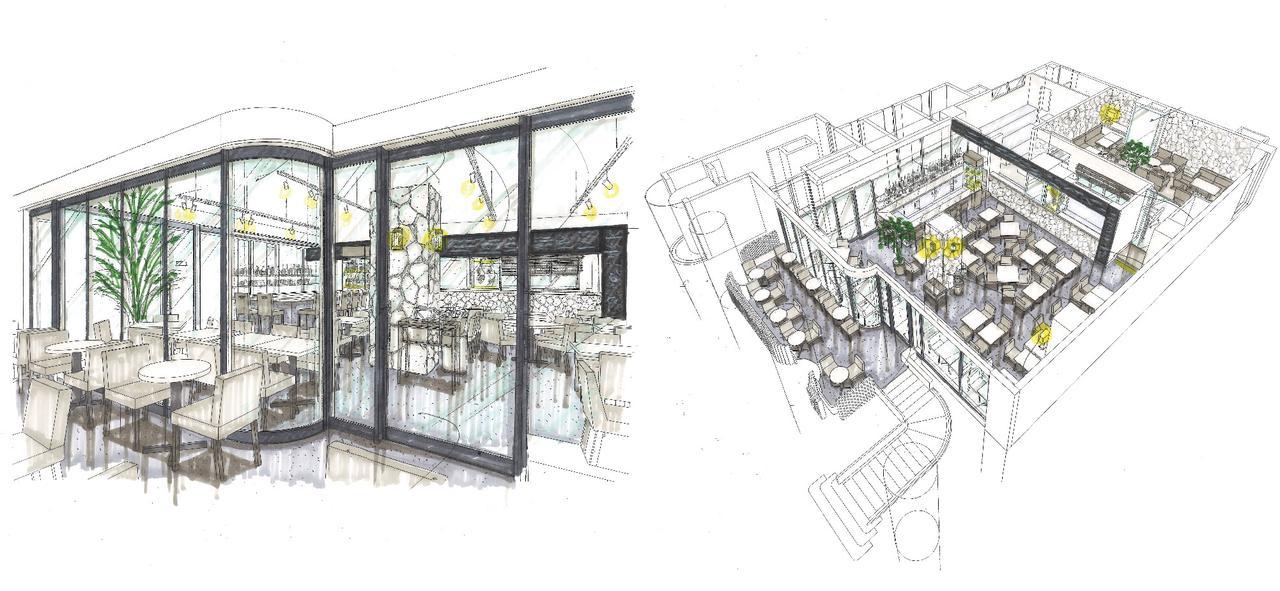画像2: 新百合ヶ丘に海外風レストランを1月20日オープン!