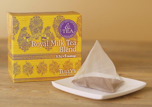 画像: 「&TEA ロイヤルミルクティーブレンド ティーバッグ」 1箱(5個)600円