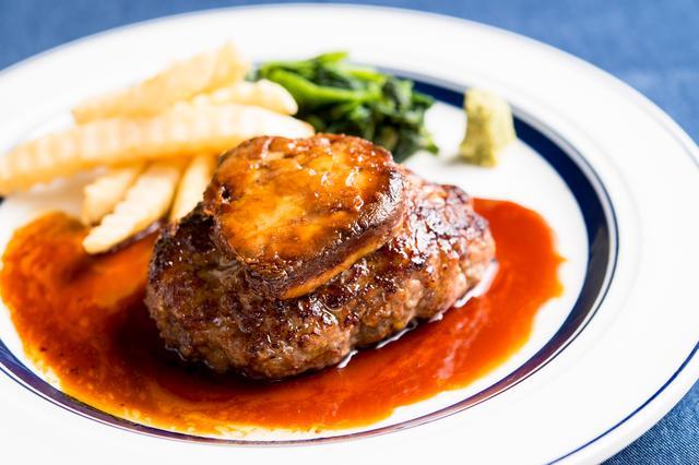 画像: 毎日10食限定の『熟成牛フォアグラハンバーグランチ』1200円(+税)
