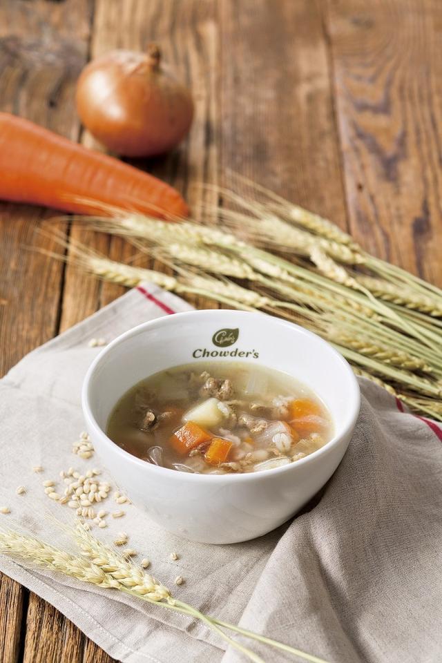 画像: 優しくカラダに染み込む、滋味深いスープ『ビーフ・スコッチブロス』が登場!