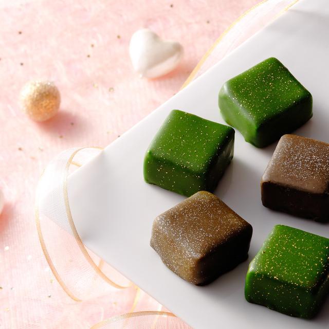 画像1: 祇園辻利自慢の抹茶とほうじ茶、それぞれの豊かな風味を堪能できるとっておきのチョコレート。
