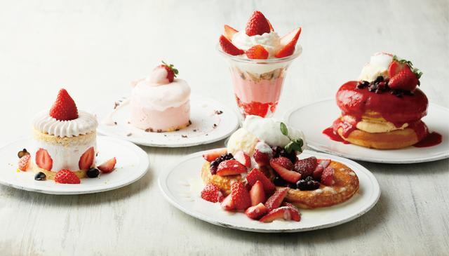 画像: 見て・食べて・撮って楽しいキュートな苺デザート勢揃い!