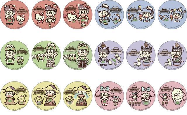 画像4: (c)赤塚不二夫/おそ松さん製作委員会 (c)1976, 1979, 1984, 1988, 1996, 2017 SANRIO CO.,LTD.