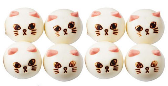 画像2: ツンデレにゃんの猫の形をした中華まん「ニャムチャ」シリーズに「肉まん」が新登場!
