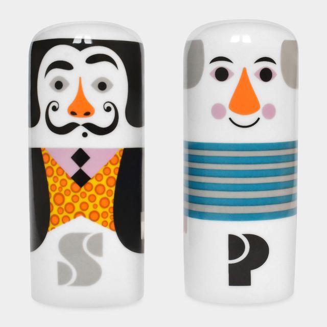 画像: Salvador & Pablo S&P セット  3,240円(税込) ダリとピカソのソルト&ペッパーシェイカー。名前の頭文字の「S」と「P」が描かれています。