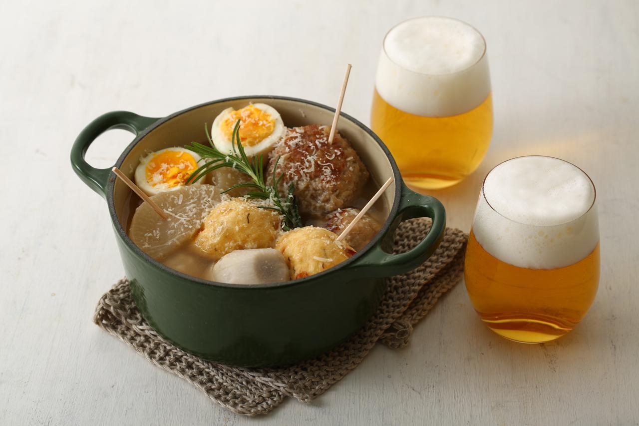 """画像: クラフトビールと二子玉川にちなんだ""""ふたこおでん""""が楽しめる「ふたこビール誕生祭」"""