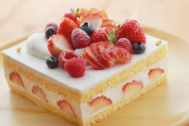 画像: いちごのショートケーキ