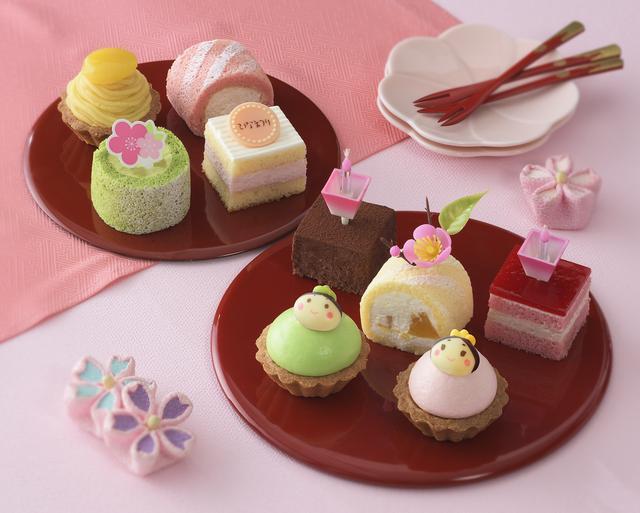 画像1: 桃の節句は、乙女心をくすぐる春色スイーツで楽しいパーティーを!