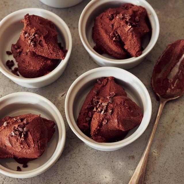 画像: 「豆腐のチョコレートムース」