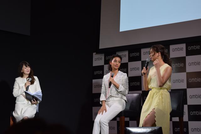 画像: 発表イベントには高橋メアリージュンさん、高橋ユウさんが登場!