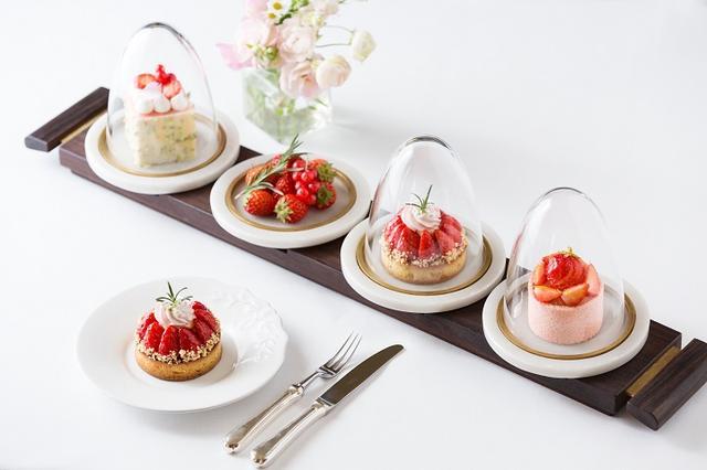 画像: 見た目も可愛らしい苺のガトー