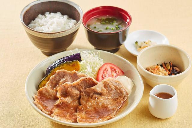 画像: かみふらのポークの生姜焼き膳  1,299円