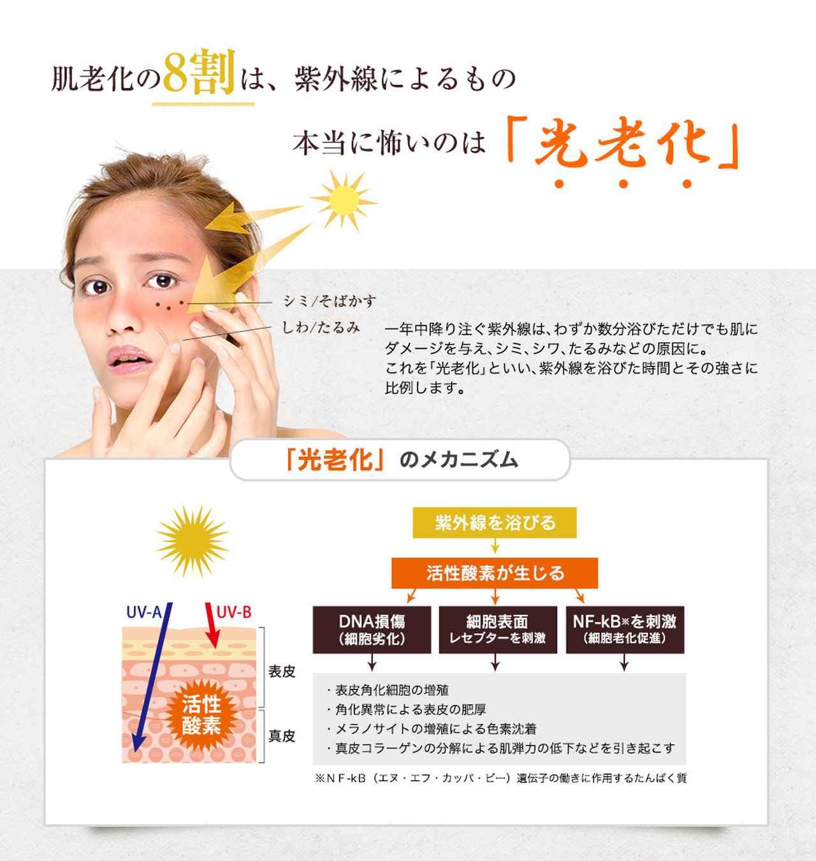 画像: 最先端のUVケア!体の内側から「飲む」日焼け止めサプリ|ボタニカルホワイト