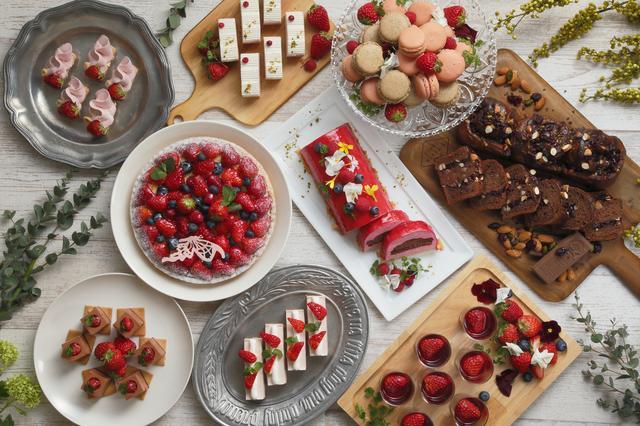 画像: チョコレート×ベリースイーツ ビュッフェが春をテーマに復活!