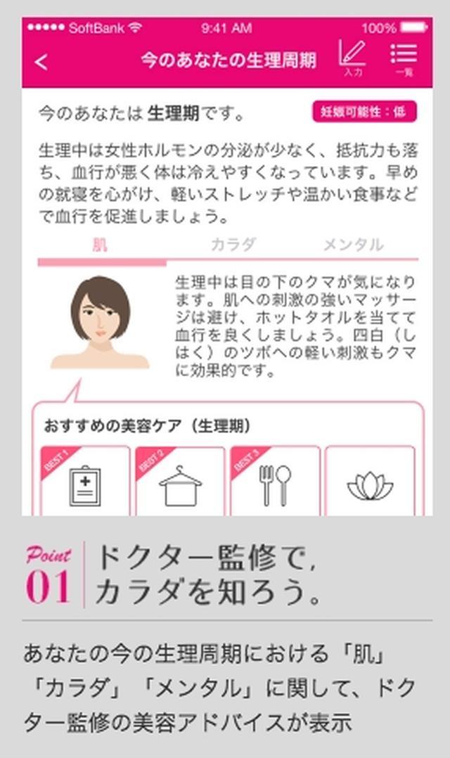 画像1: 【取材レポ】構想4年!女性のための生理周期連動型パーソナル美容アプリ「LunaRitta」誕生!