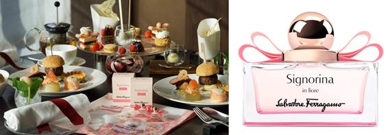 画像1: サルヴァトーレ フェラガモの新作、桜の香りを表現 したアフタヌーンティー開催!