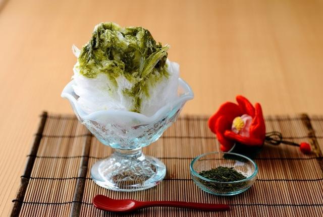 画像: 界 伊東(静岡県・伊東温泉) 「ぐり茶かき氷」