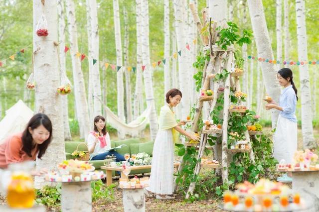 画像: 白樺スイーツツリー