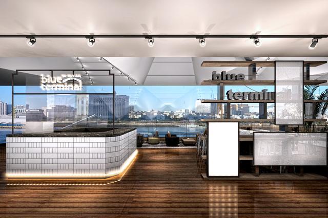 画像: グルメバーガーカフェ「café & dining blue terminal」が横浜 大さん橋に待望オープン!