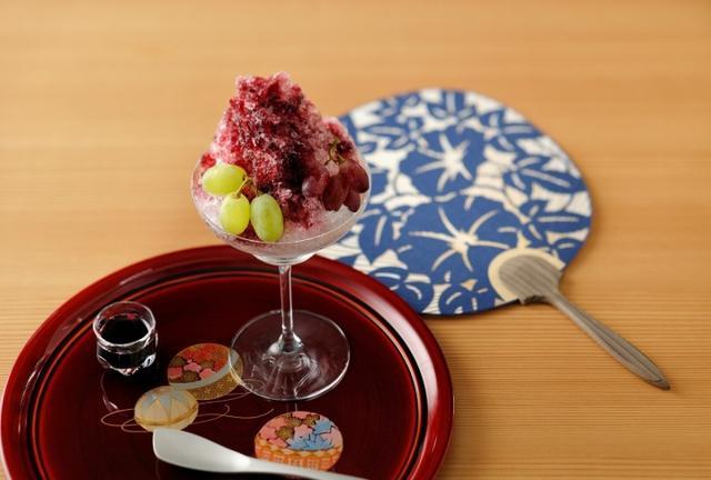 画像: 界 松本(長野県・浅間温泉)「ワインかき氷」