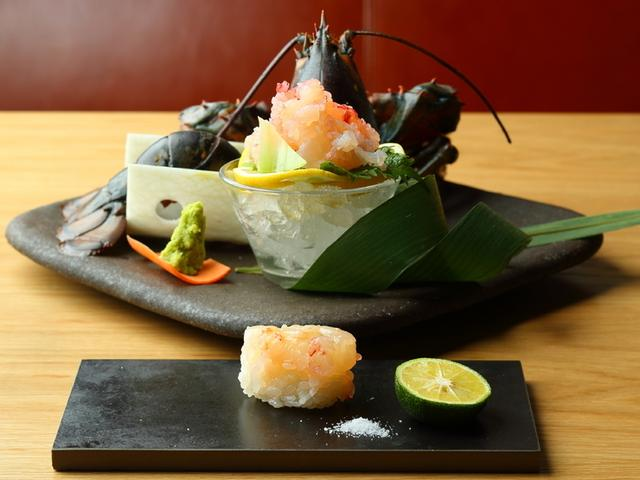 画像: ロブスター寿司・刺身