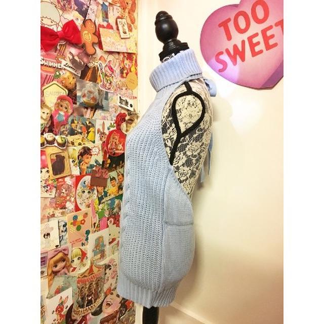 画像2: ネットを騒がせ「例のセーター」と呼ばれている服の「ブルー」がヴィレヴァンで発売開始!