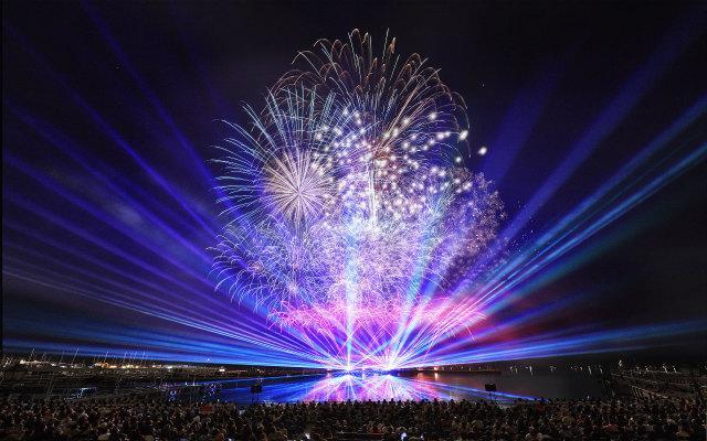 画像1: 夏一番花火大会18,000発の大花火と音楽のコラボレーション!