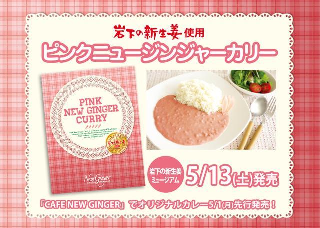 画像3: 具材はあの「岩下の新生姜」!やさしいピンク色のカレー 『ピンクニュージンジャーカリー』発売