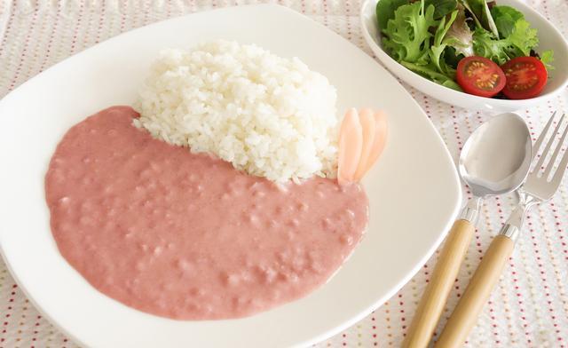 画像1: 具材はあの「岩下の新生姜」!やさしいピンク色のカレー 『ピンクニュージンジャーカリー』発売