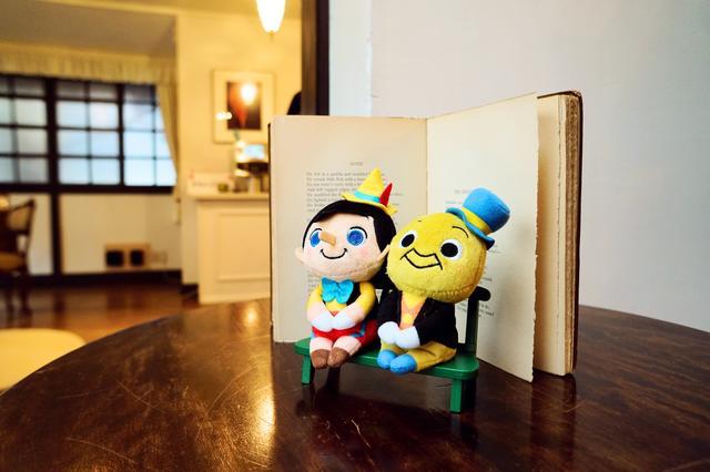 画像: (左から)ピノキオ、ジミニー・クリケット