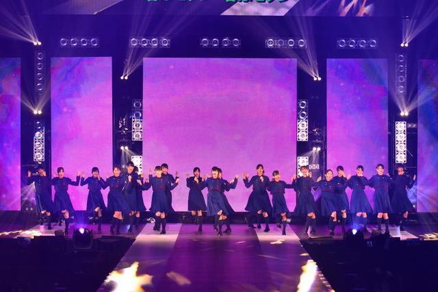 画像: 圧倒的なパフォーマンスで観客を魅了した欅坂46