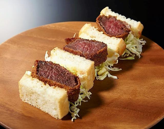 画像: 365日/15℃×肉山> 牛ヒレカツサンド(1人前) 1,501円