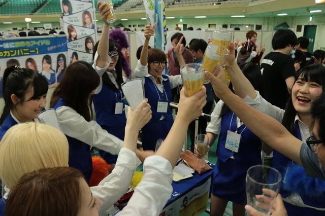 """画像: そんな『武道館アイドル博2017』に""""飲みドル""""が登場!"""