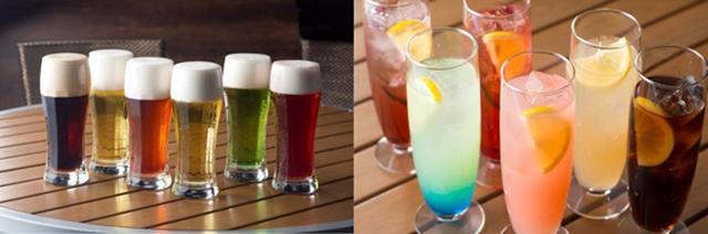 画像1: 女性にも飲みやすいビアカクテル&ノンアルコールカクテル