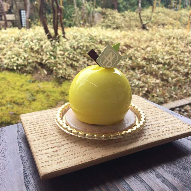 画像1: 希少な「多田錦ゆず」を使った フォトジェニックな「多田錦ゆずのムース」