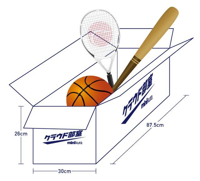 画像: 【Lサイズ】バットやラケット、ボールなど大きなも