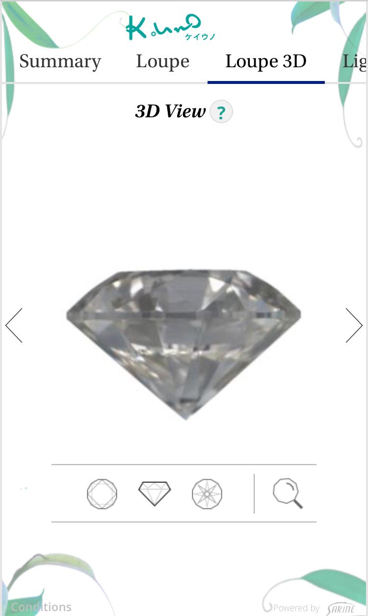 画像4: 【体験レポ】スマホ・タブレットで、より身近に!日本初導入「ケイ・ウノ」ダイヤモンドのデジタル鑑定書が凄い!