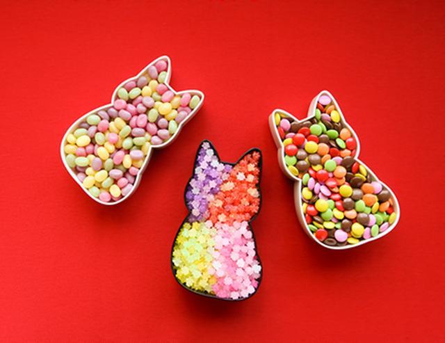 画像1: ねこ好きが贈る!ねこ型弁当『福ねこ弁当』
