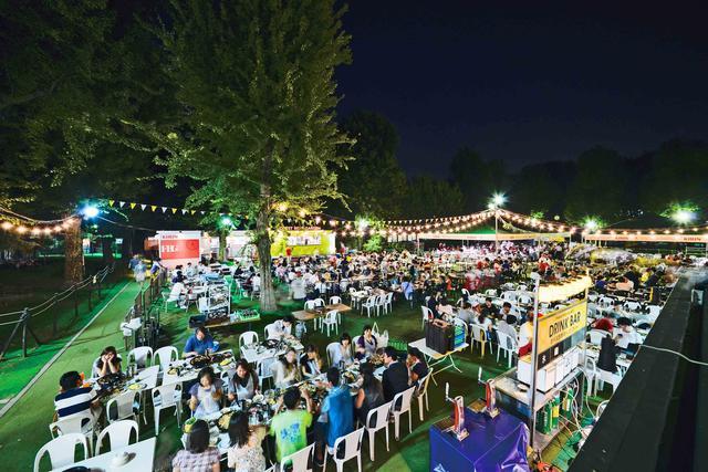 画像: 明治神宮外苑「森のビアガーデン」がオープン!