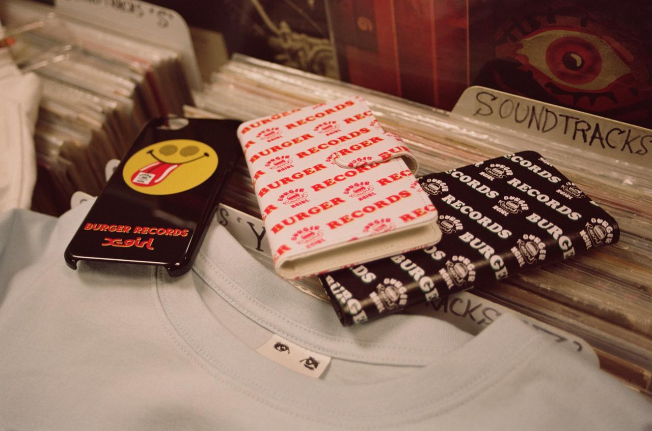 """画像2: LA発の音楽レーベル兼レコードショップ """"BURGER RECORDS""""とのコラボレーション"""