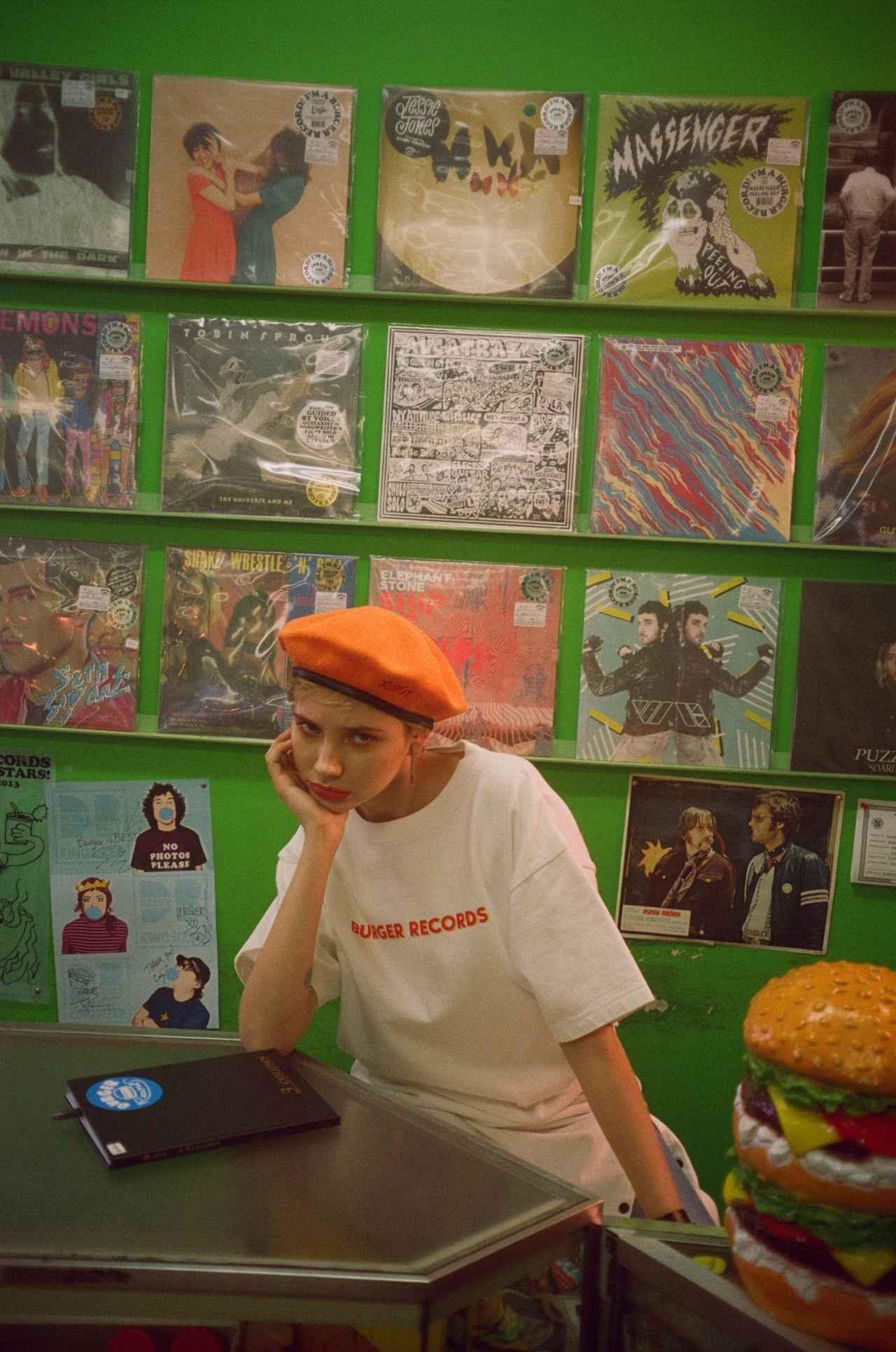 """画像8: LA発の音楽レーベル兼レコードショップ """"BURGER RECORDS""""とのコラボレーション"""