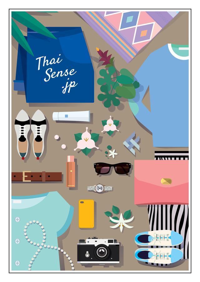画像1: タイの人気ブランドによるPOP UPイベント『THAI SENSE.JP』