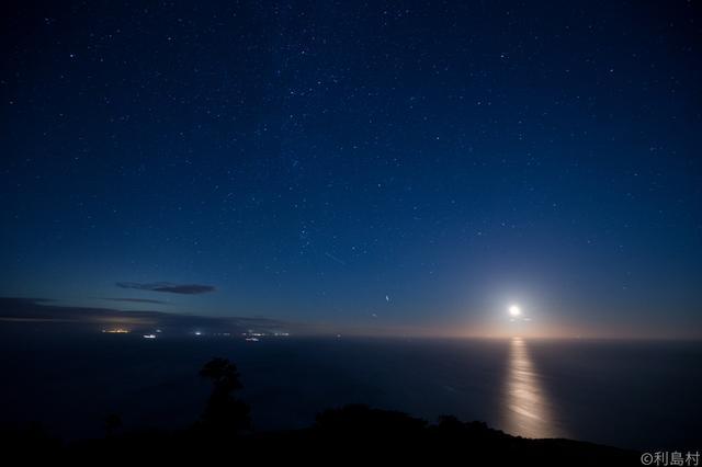 画像1: 村長自ら秘境利島を案内します!椿の島星空観察&宮塚山トレッキング