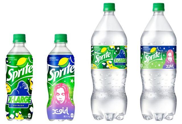 画像1: 「スプライト × XLARGE® × X-girl」のトリプルコラボレーションだから実現した、 ファッショナブルでクールな夏限定コラボデザインボトル