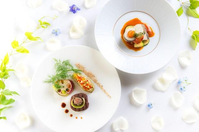 画像: フランス料理コース「Creamour」より