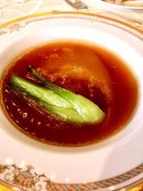 画像: ふかひれの姿煮 温野菜添え