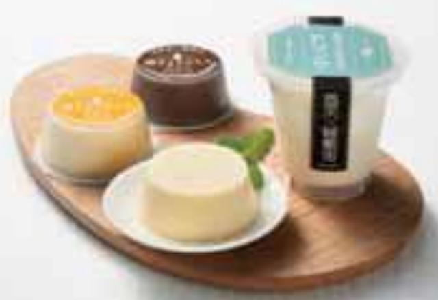画像: ライスミルクドリンク(180 ㎖) 250 円 ライスミルクプリン(70g) 各 200 円