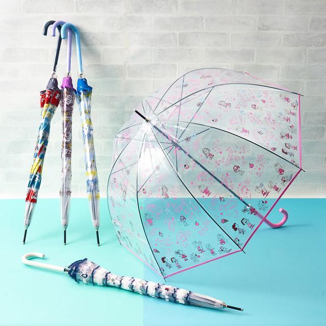 画像: 雨の日もハッピーに!PEANUTSオリジナルデザインのビニール アンブレラ